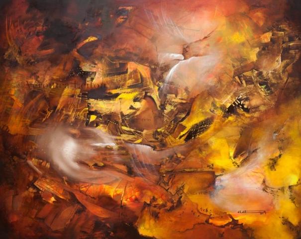 De las profundidades de la tierra - Óleo sobre lienzo / 2014