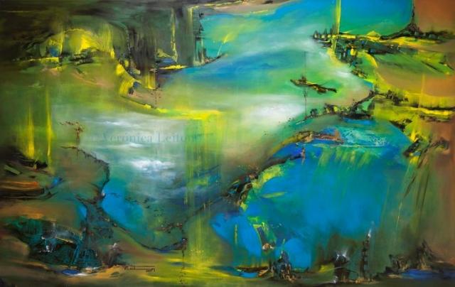 De regreso a casa - Óleo sobre lienzo / 2014