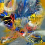 Destellos de Venus - Óleo sobre lienzo / 2016