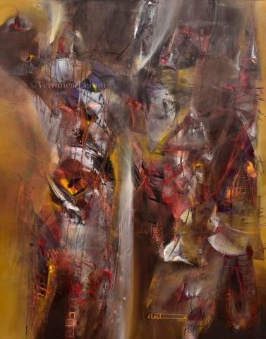 El flujo del despertar - Óleo sobre lienzo / 2014