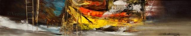 En la profundidad de arriba igual que abajo - Óleo sobre lienzo / 2012