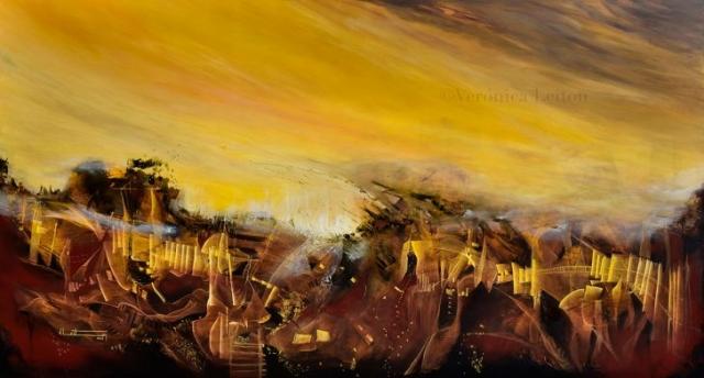 En los túneles del alma - Óleo sobre lienzo / 2012