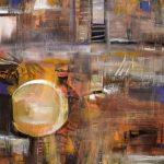 Hacia otro mundo - Óleo sobre lienzo / 80x60x5cm / 2019