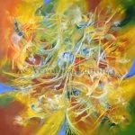 Jardín de luz - Óleo sobre lienzo / 2015