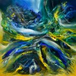 La alquímia del bosque - Óleo sobre lienzo / 100x100cm / 2018