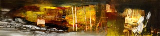 La caverna se enciende - Óleo sobre lienzo / 2012
