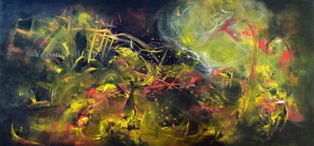 La danza del imaginario - Óleo sobre lienzo / 2014
