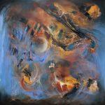 Más allá de la nebulosa - Óleo sobre lienzo / 2015