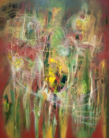 Realidades Invisibles - Óleo sobre lienzo / 2014