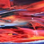 Río Rojo - Óleo sobre lienzo / 60x80x5cm / 2019