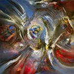 Supernova - Óleo sobre lienzo / 2016