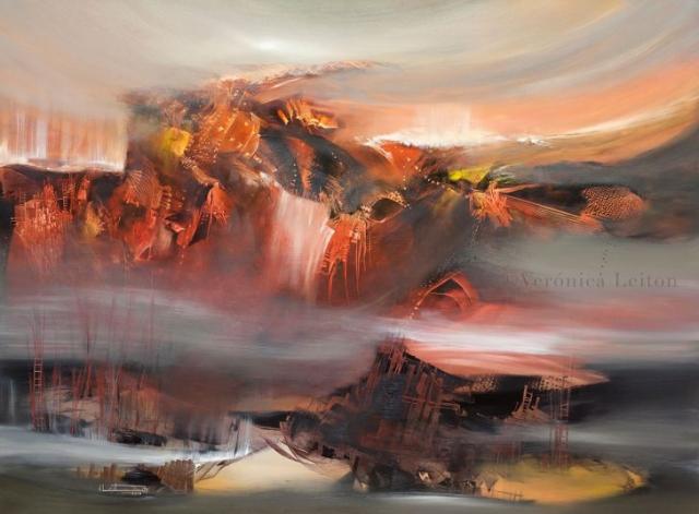 Terremoto de latidos - Óleo sobre lienzo / 2012